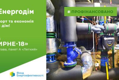 """Мешканці ОСББ """"Мирне-18"""" у Полтаві встановили ІТП та утеплили трубопроводи тепла за програмою """"Енергодім"""""""